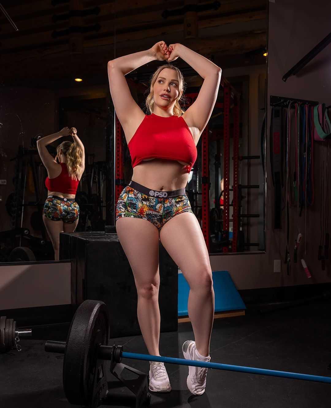 Mia Malkova Gym Photo