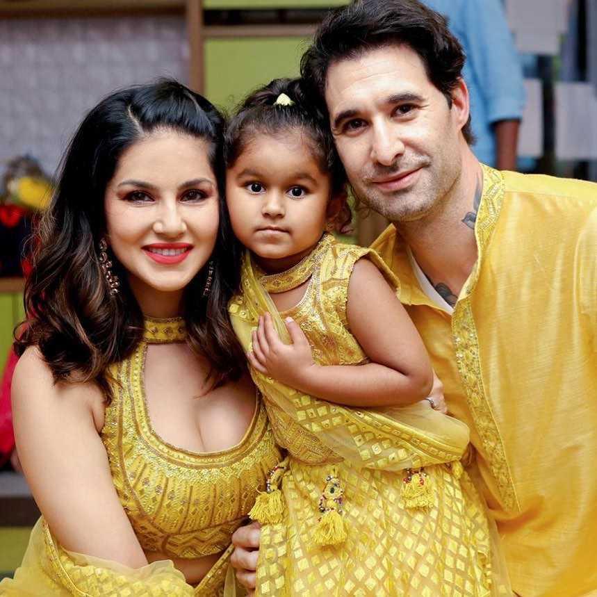 Sunny Leone Husband Family