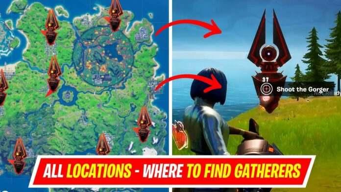 Gatherers in Fortnite