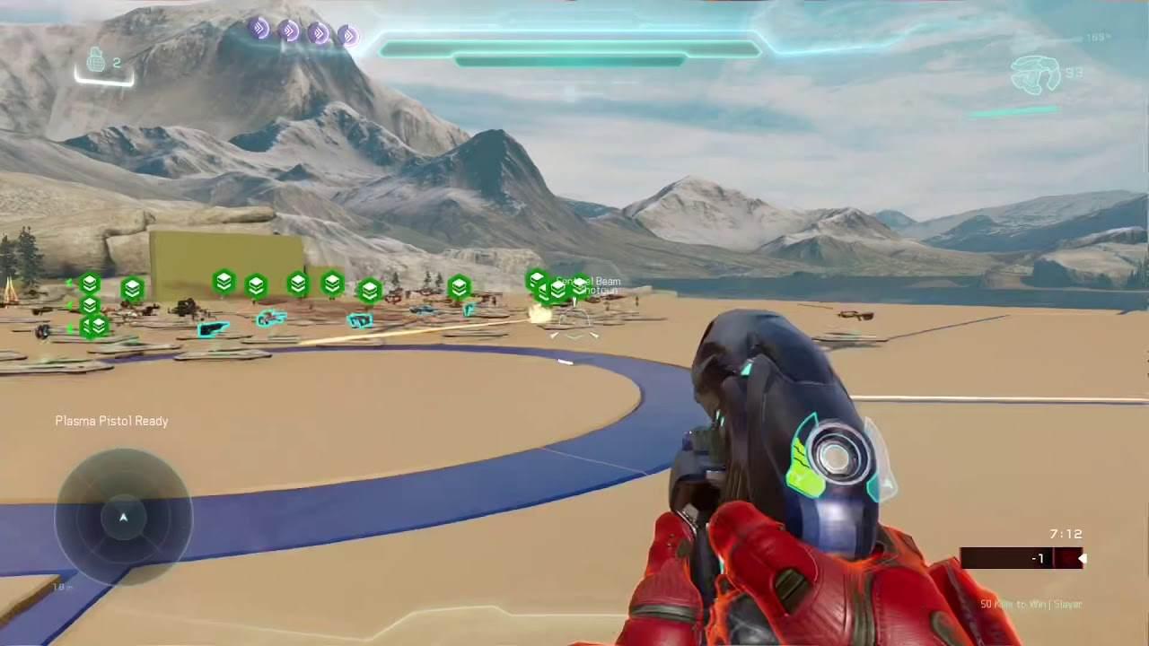 Halo Infinite Plasma Pistol