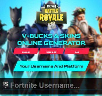 Zahack.com Get Free Fortnite Skins and V-Bucks